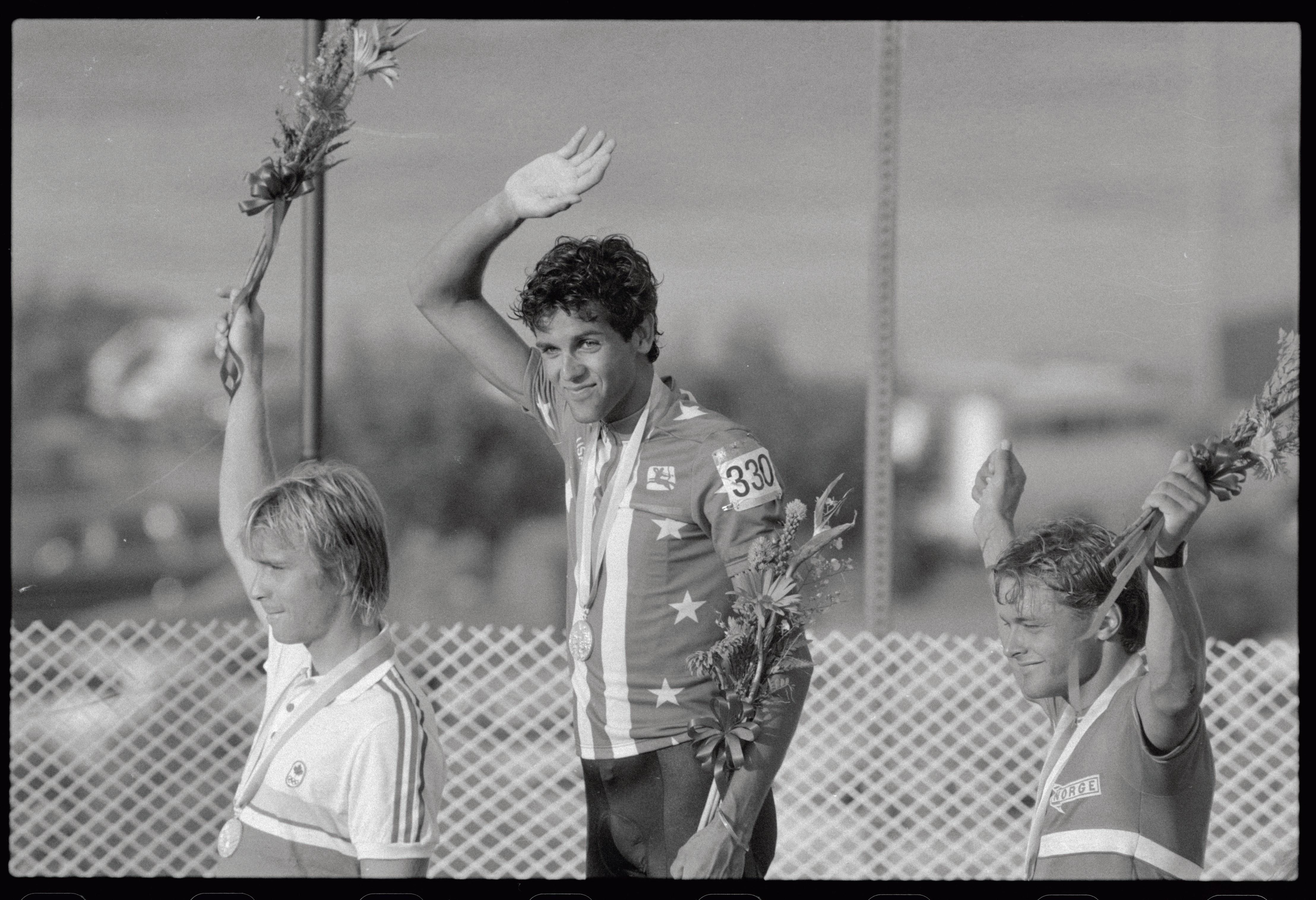 Alexi Grewal y Steve Bauer - Los Angeles 1984