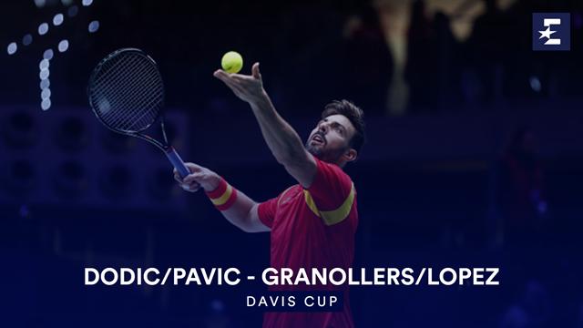 Höjdpunkter: Dodic/Pavic - Granollers/Lopez
