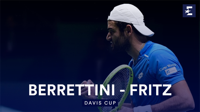 Höjdpunkter: Berrettini - Fritz