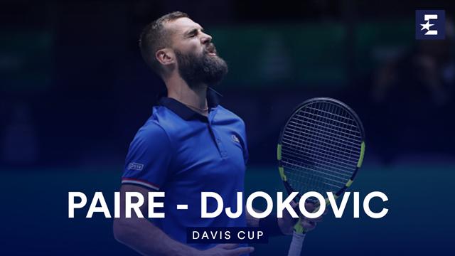 Höjdpunkter: Paire - Djokovic