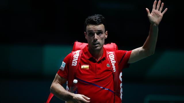 L'Espagne mène 1-0 devant le Canada en finale — Coupe Davis