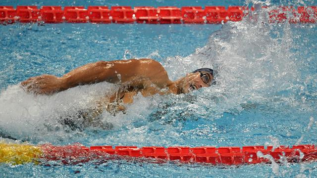 Suivez l'International Swimming League en direct sur Eurosport 2 et Eurosport Player
