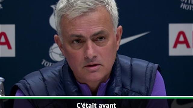 Tottenham - Mourinho ne devait jamais entraîner les Spurs : ''Depuis, je me suis fait virer de