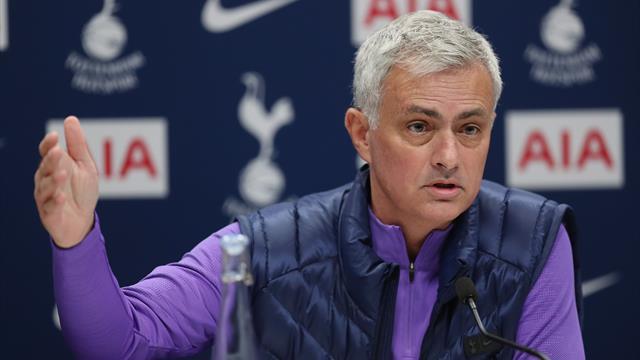 Mourinho sleeps at Tottenham's training ground