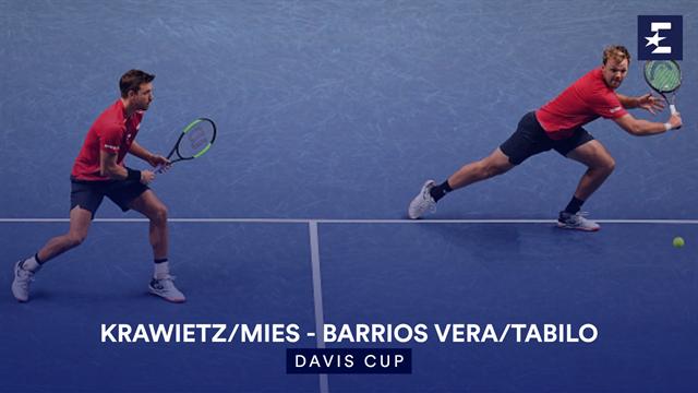 Höjdpunkter: Krawietz/Mies - Barrios Vera/Tabilo