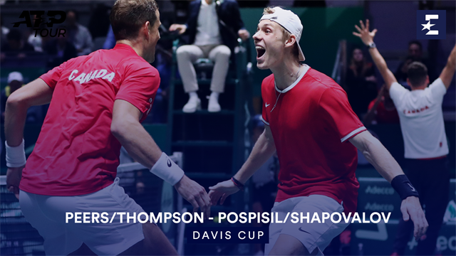 Höjdpunkter: Peers/Thompson v Pospisil/Shapovalov