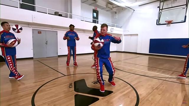 Невообразимые трюки баскетбольных фристайлеров из Китая и Польши – чертовски завораживающе