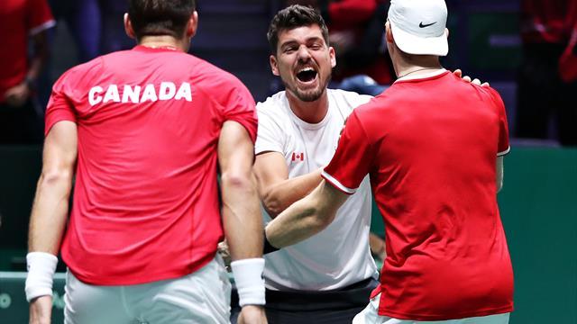Cupa Davis | Canada, prima echipă calificată în semifinale. Rezultatele zilei