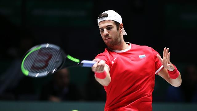 'Extraordinary' - Khachanov hits incredible winner in doubles