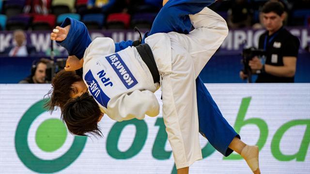 Osaka Grand Slam, stop per Manzi, oro a Naohisa Takato