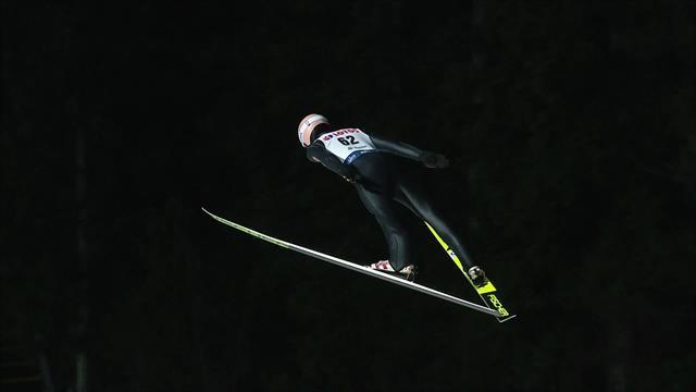 Copa del Mundo, Visla: Karl Geiger se llevó la clasificación con este tremendo salto
