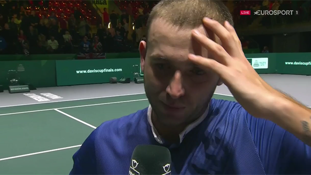 Dan Evans: I thought I had let the team down
