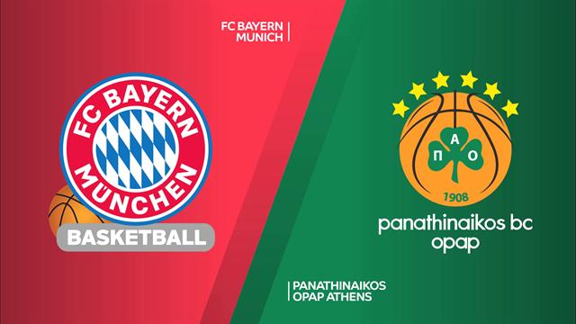 Highlights: Bayern Monaco-Panathinaikos OPAP 75-87