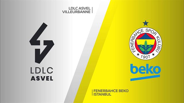 Highlights: ASVEL Villeurbanne-Fenerbahce Beko 72-88