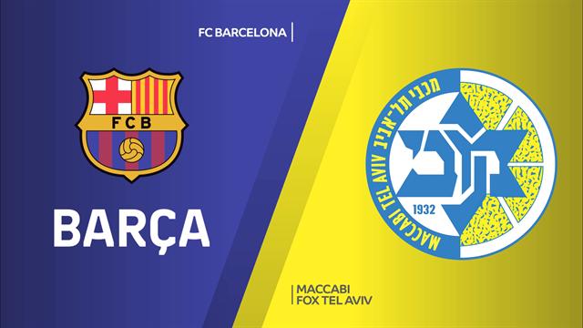 Highlights: FC Barcellona-Maccabi FOX Tel Aviv 96-73