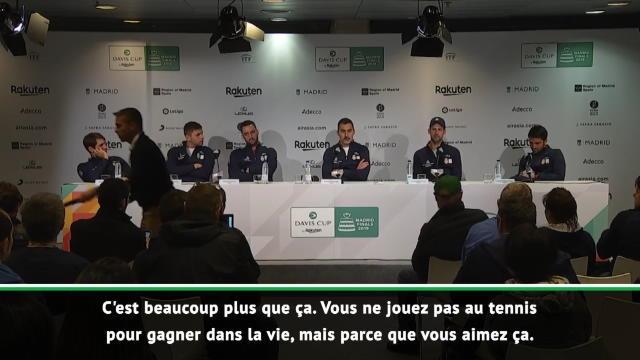 Coupe Davis - Djokovic et ses copains en pleurs : l'immense émotion de la conférence de presse des
