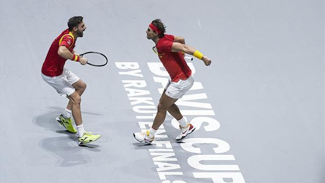 Nadal enchaîne et qualifie l'Espagne