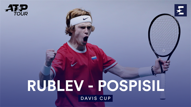 Highlights: Impressive Rublev gives Russia lead