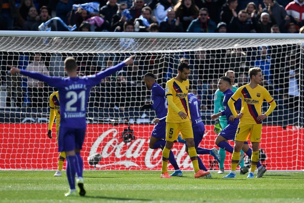 Leganés vs Barcelona   La Liga