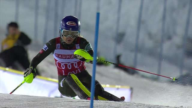 WATCH: Shiffrin's run that broke the record - 'That's why she's world champion!'