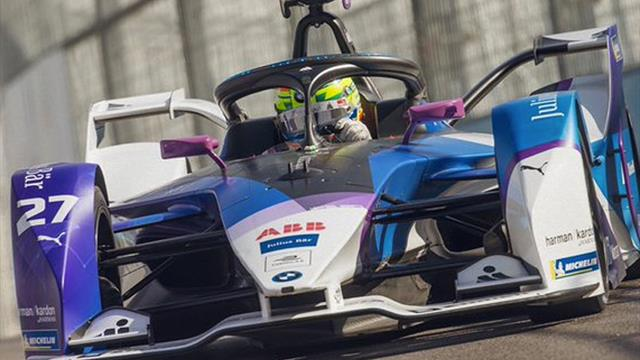Sims takes maiden Formula E victory in eventful race