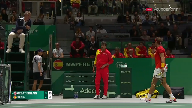 'It's getting a little spicy!' - Nadal 'not happy' with umpire