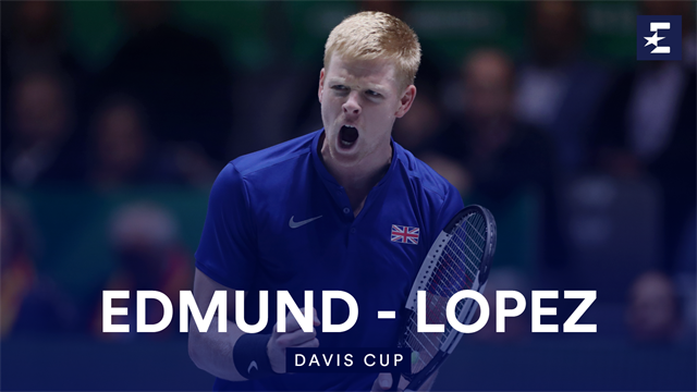 Highlights: Edmund plays brilliantly to beat Lopez