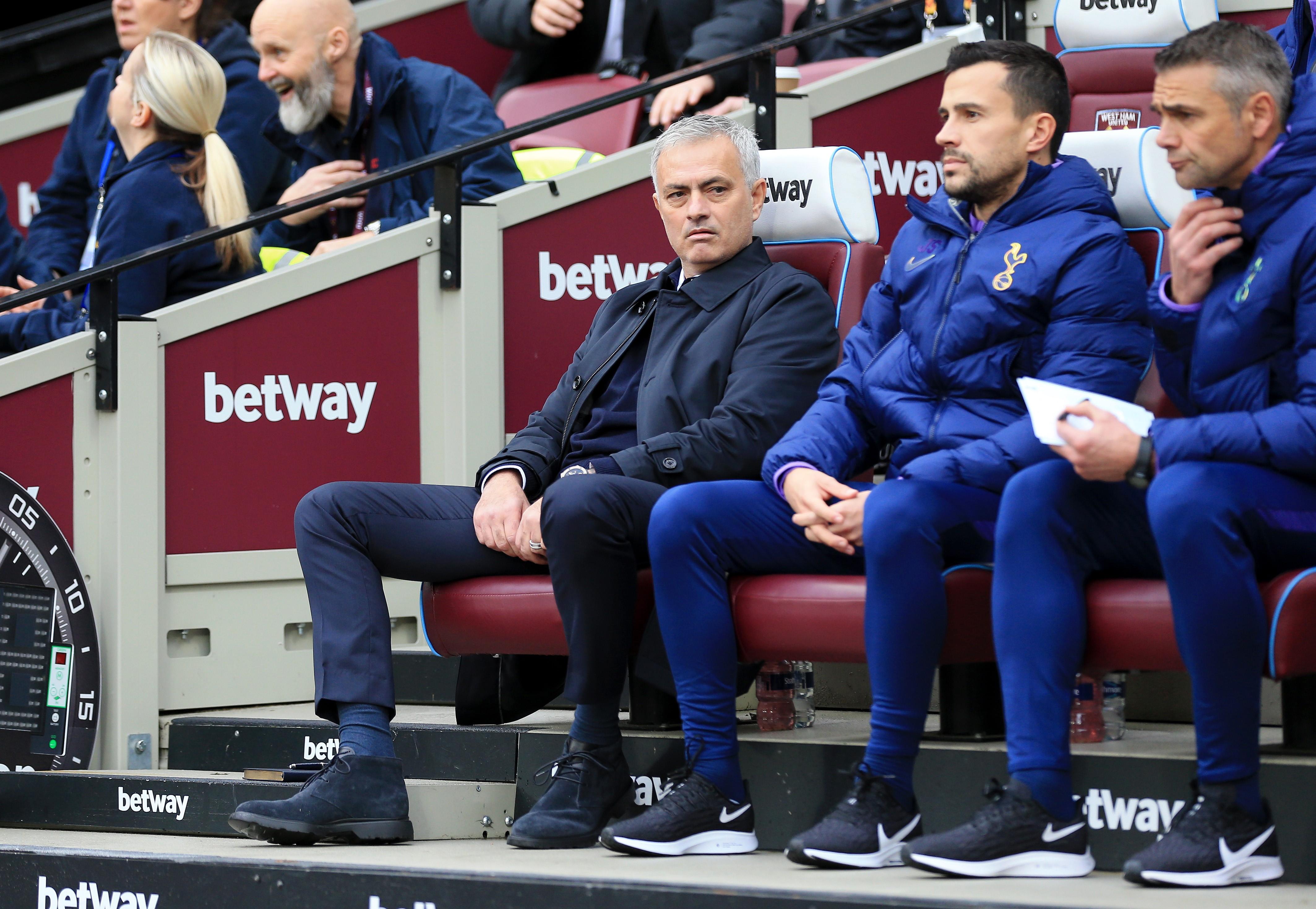 Josè Mourinho | West Ham-Tottenham