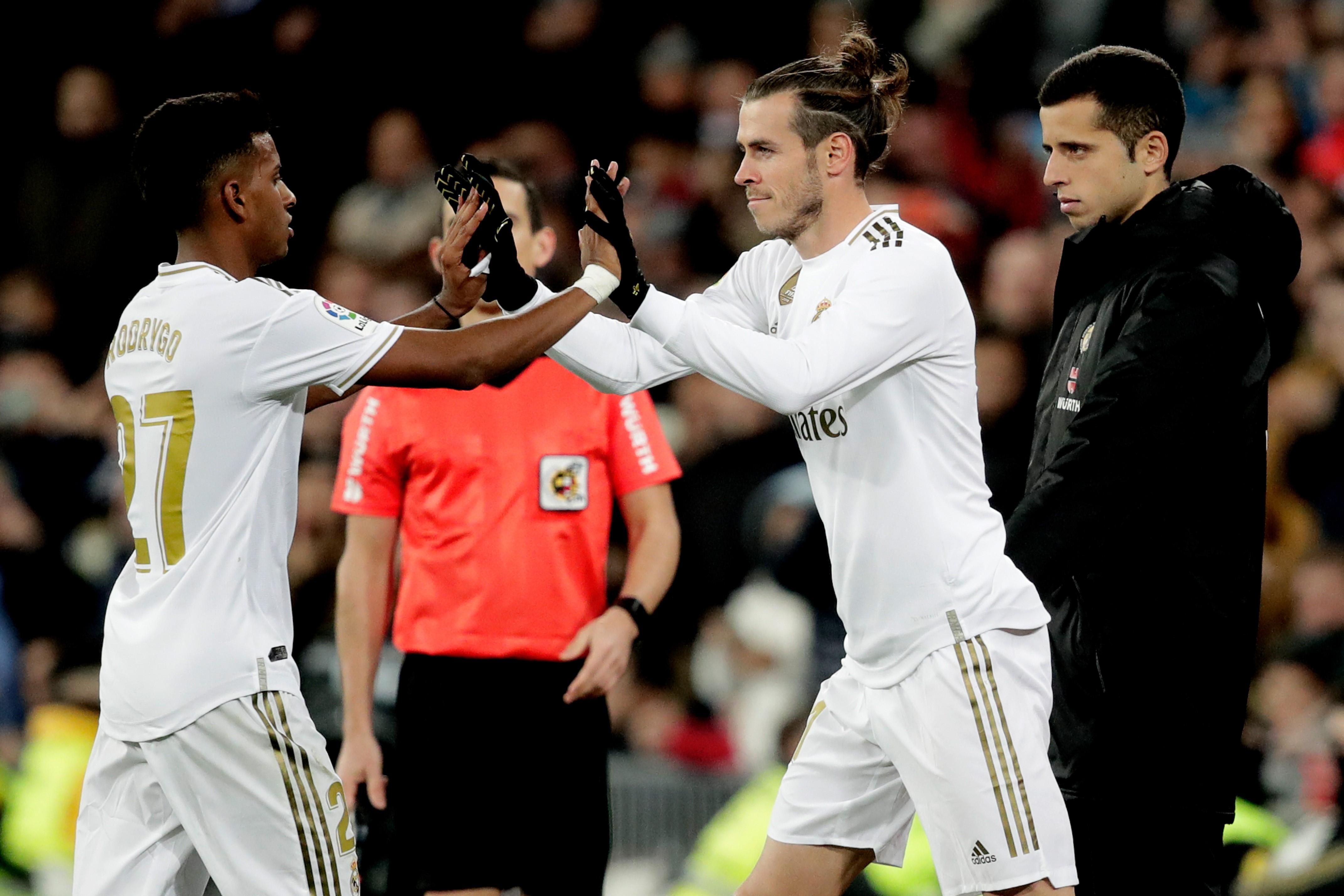Rodrygo ve Gareth Bale   Real Madrid vs Real Sociedad   La Liga