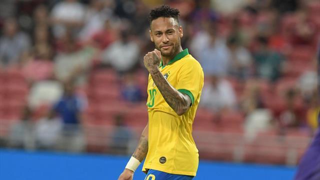 La folie furieuse : L'explosion de joie de Neymar après la victoire de Flamengo