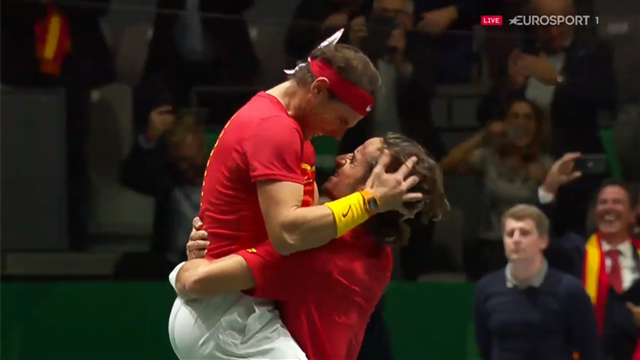 'Astonishing' - Watch the moment Spain beat GB to reach Davis Cup final