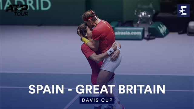Highlights: Spain win epic thriller in the doubles against Great Britian