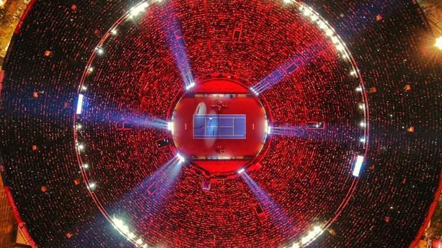 Loin de la Coupe Davis, Federer et Zverev réunissent plus de 42000 spectateurs à Mexico