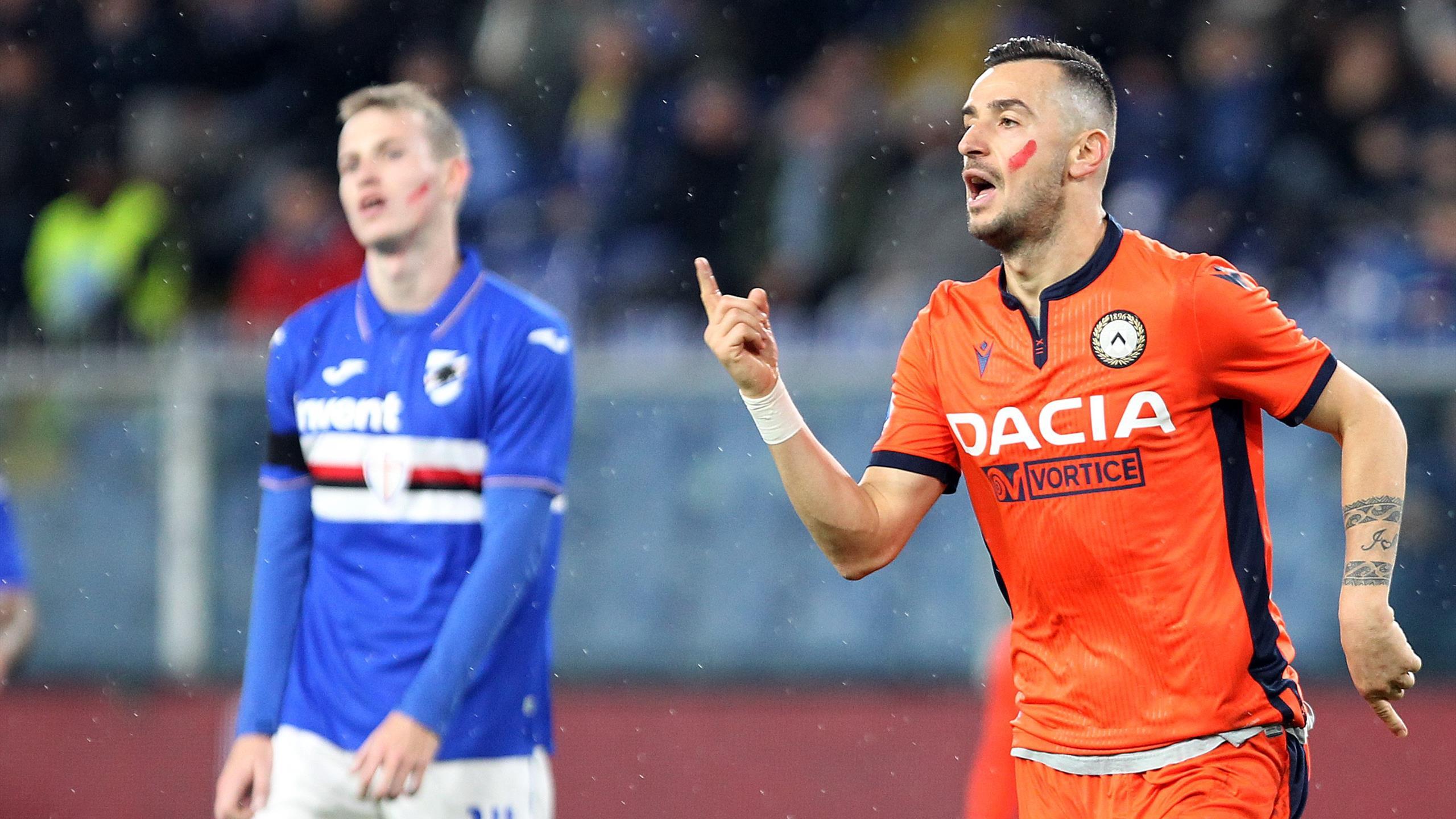 Le pagelle di Sampdoria-Udinese 2-1: Gabbiadini favoloso, Ramirez ...