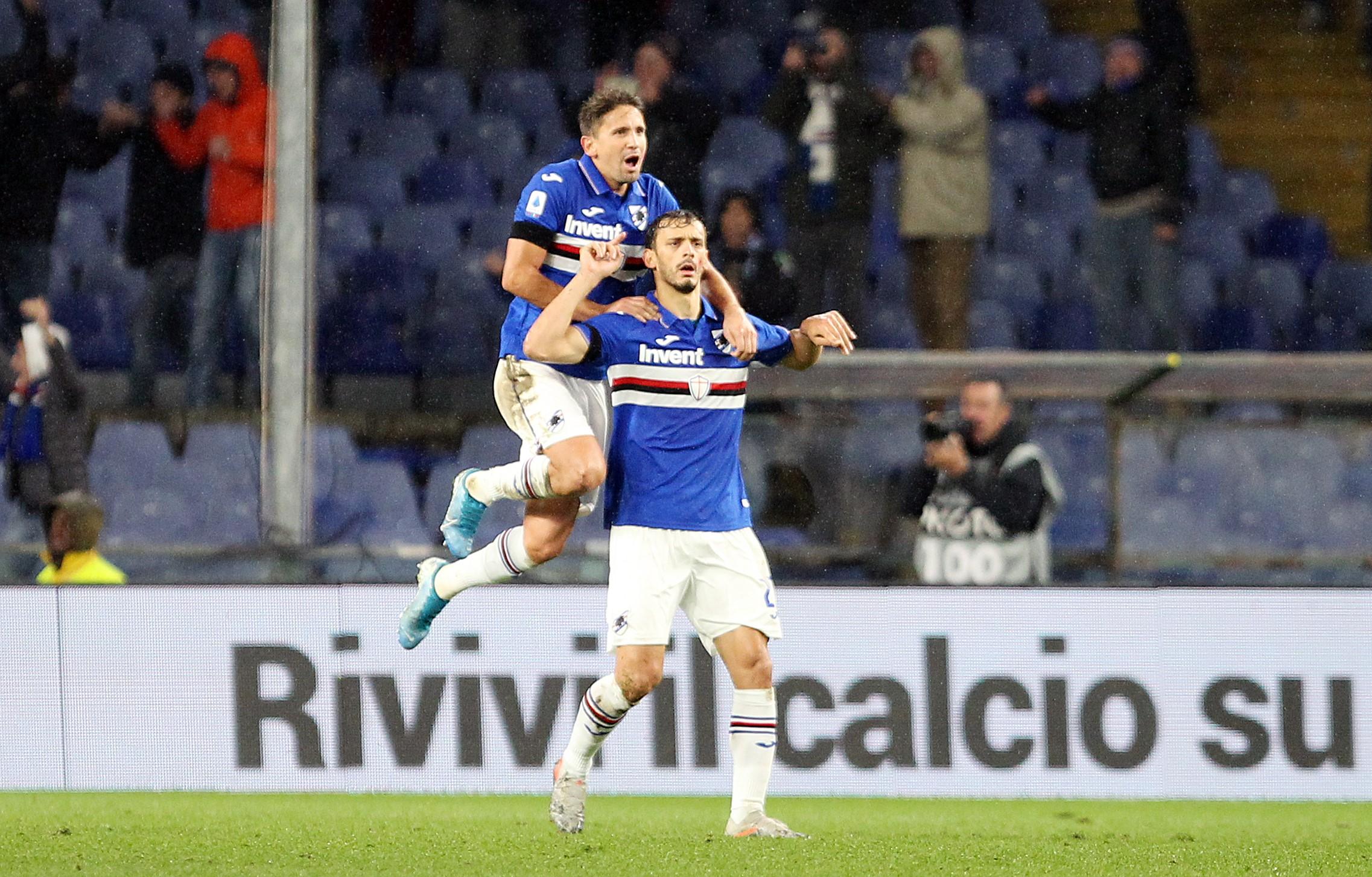 Manolo Gabbiadini   Sampdoria-Udinese   Serie A
