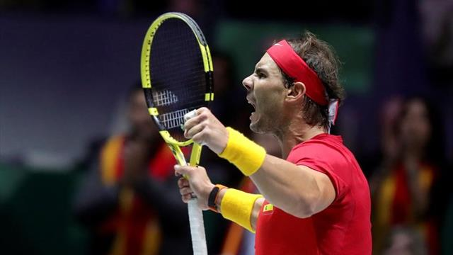'I could not be happier' - Nadal delighted to overcome adversity to win Davis Cup