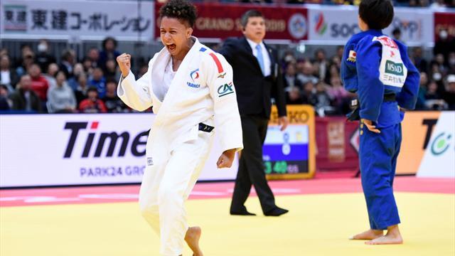 Grand Slam d'Osaka : Amandine Buchard et Fanny-Estelle Posvite médaillées