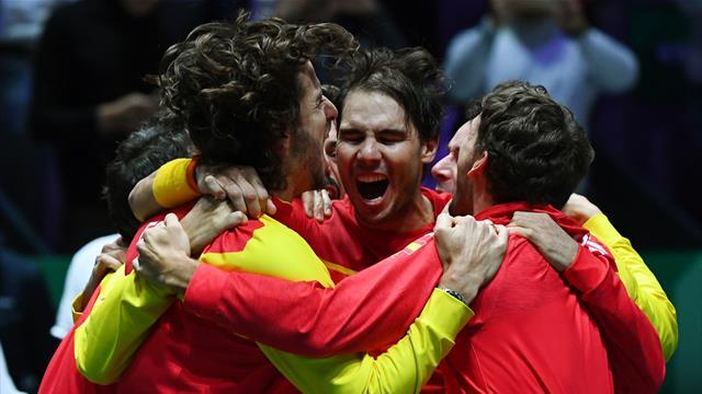 Le roi Nadal couronne l'Espagne