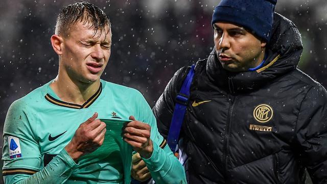 Barella, operazione per il centrocampista dell'Inter dopo l'infortunio: rientra nel 2020