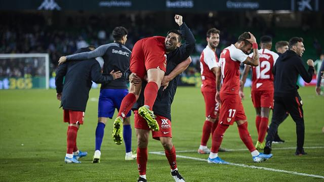 Malgré l'exclusion d'Ocampos, le FC Séville monte sur le podium