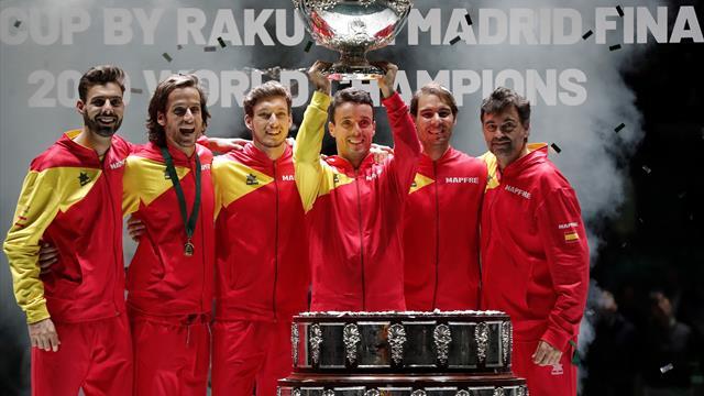 Spania, campioană pentru a șasea oară în Cupa Davis! Rafael Nadal, evoluții incredibile la Madrid