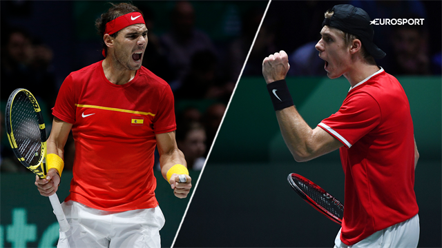 Highlights: Rafael Nadal vs. Denis Shapovalov