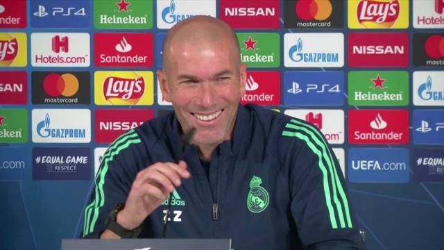 Zinedine Zidane: 'I am in love with Kylian Mbappe'