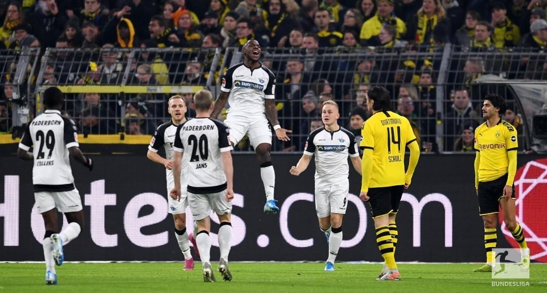 Bourssia Dortmund - Paderborn | Bundesliga