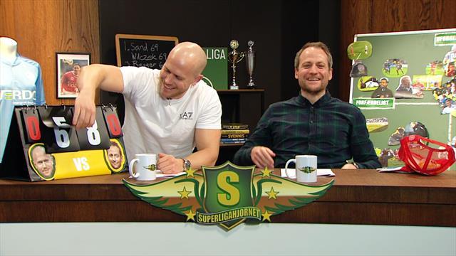 SuperligaHjørnet med Simo & Høygård, 17. runde