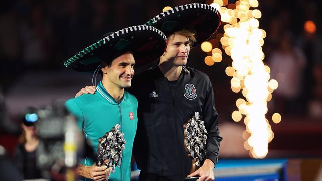 Großes Spektakel vor Rekord-Publikum: Zverev und Federer begeistern die Massen