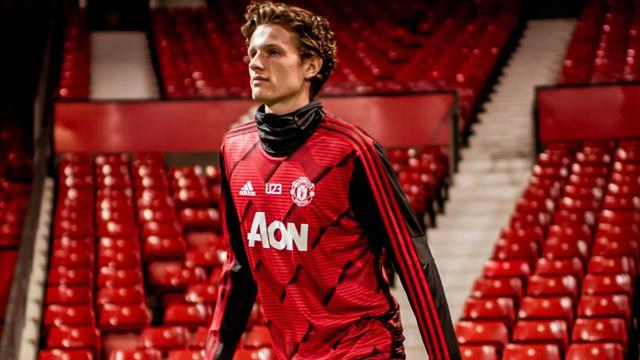Taylor in Man United's Europa squad a year after cancer treatment