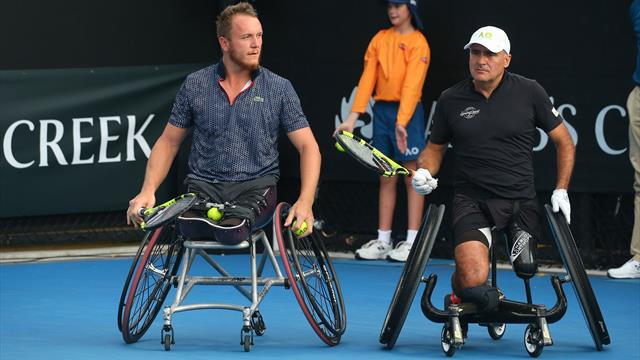 Tennis fauteuil : Houdet et Peifer conservent leur titre au Masters de double