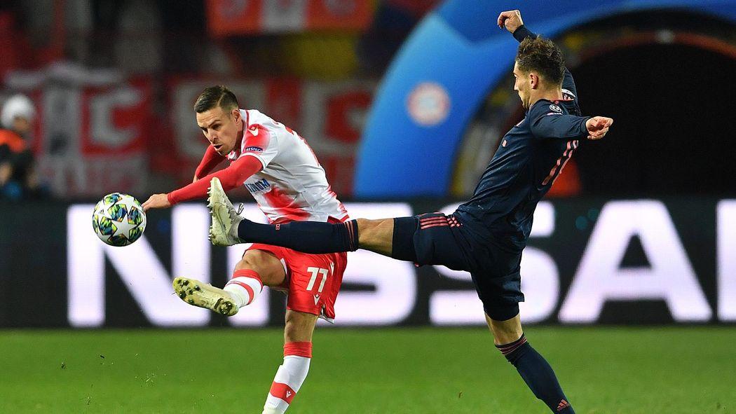 Fcb Roter Stern Belgrad Fc Bayern Jetzt Live Im Tv