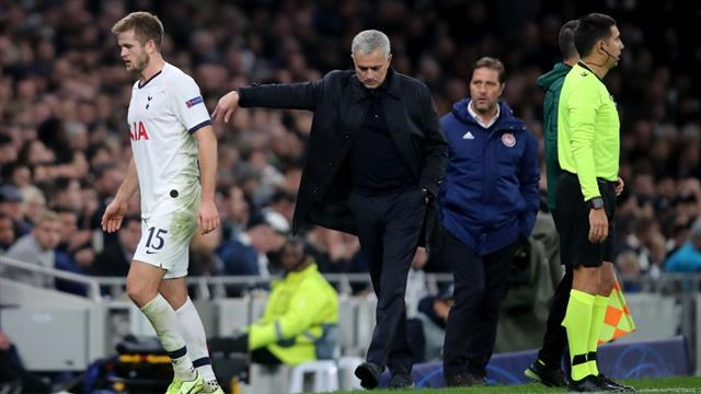 Mourinho apologises to Dier for first half substitution